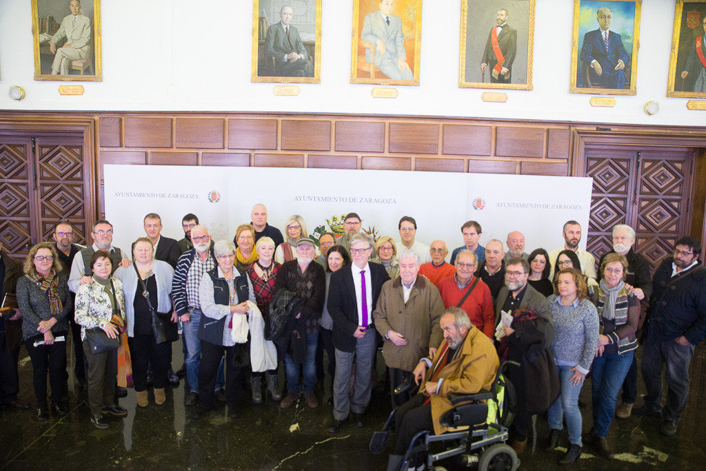 Zaragoza lleva al juzgado la querella porgenocidio, crímenes de lesa humanidad, torturas y desapariciones contra siete policías y 18 gobernadores del franquismo