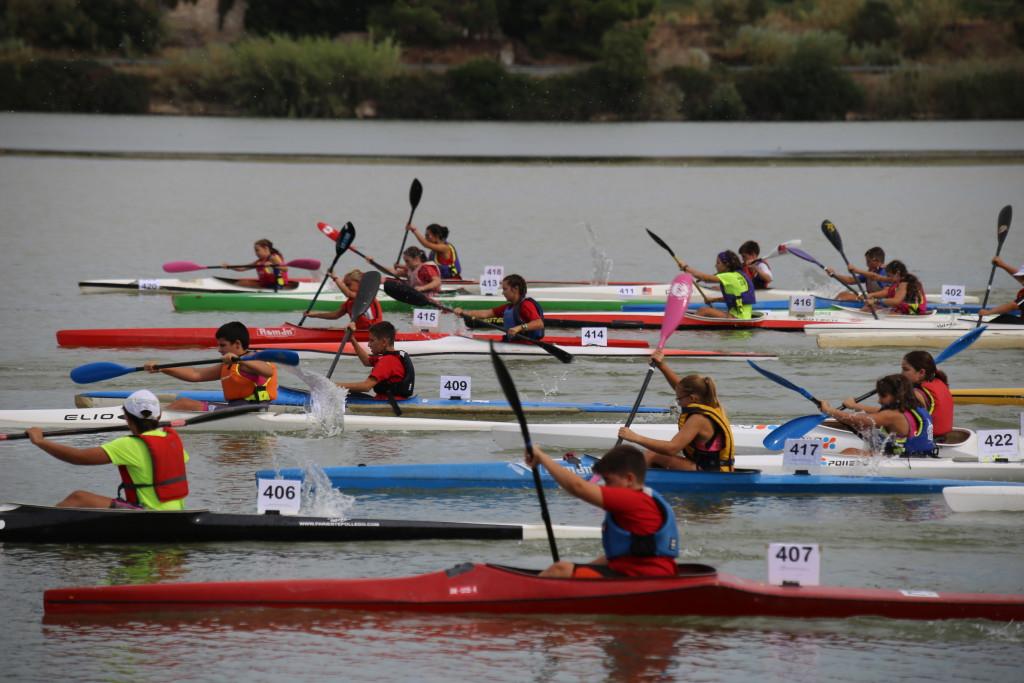 El Campo de Regatas de Mequinensa acogerá la disputa de la Copa Estatal Jóvenes Promesas y del Campeonato de Embarcaciones Dobles K2/C2 Máster de piragüismo