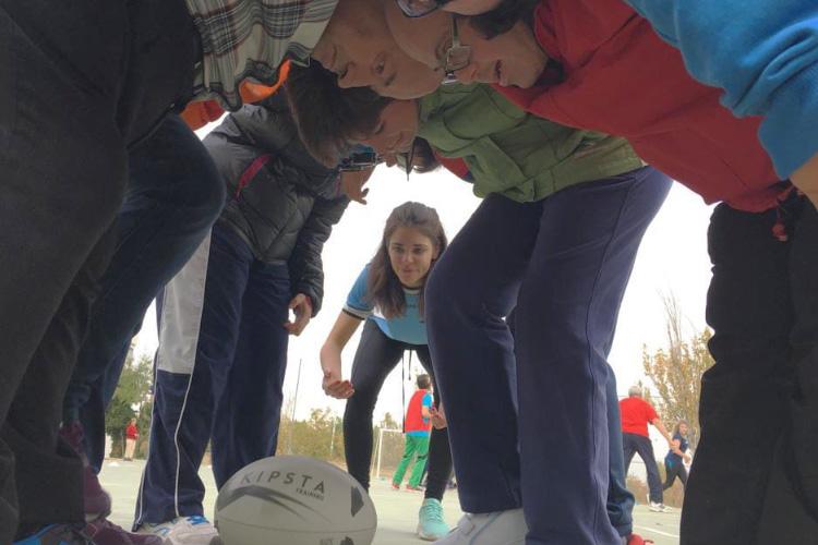 Primer torneo de Rugby Inclusivo en Zaragoza