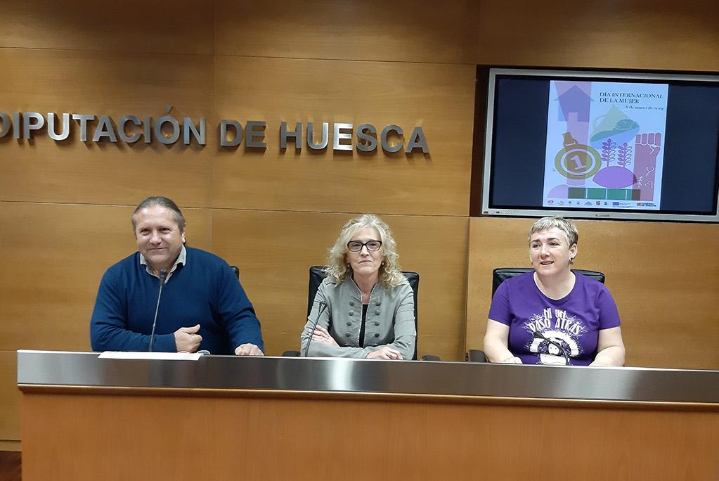 Las monegrinas reivindicarán sus derechos como mujeres rurales el próximo 8 de marzo