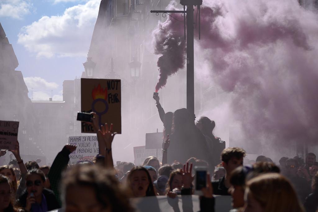 EULEN despide a una trabajadora que participó en la huelga del 8 de marzo