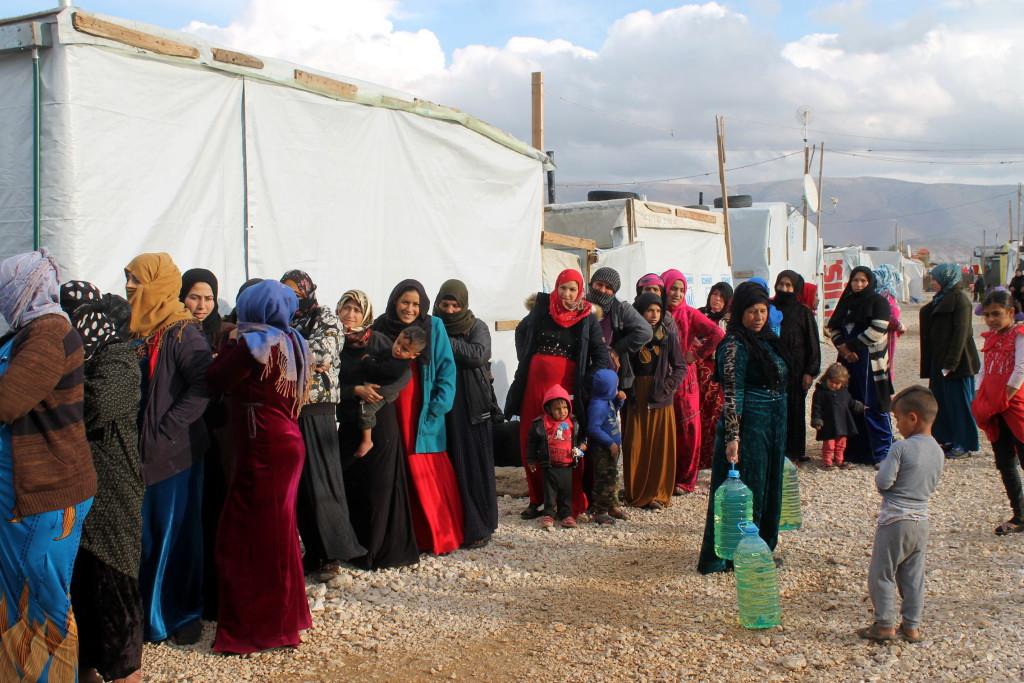 Arapaz hace balance de la situación de las personas refugiadas sirias en Líbano tras su última actuación de emergencia