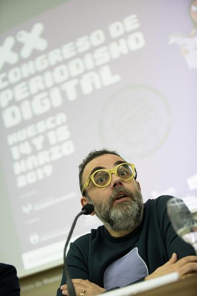 Bob Pop. Foto: Congreso de Periodismo Digital de Huesca / Javier Broto ©