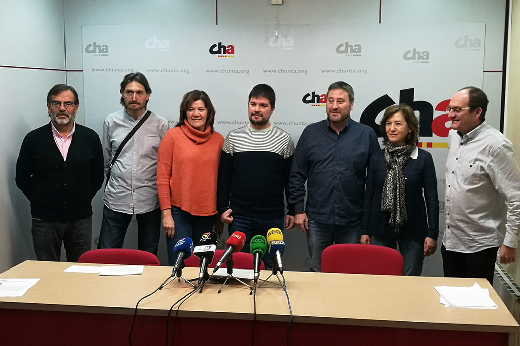 """CHA acudirá a Madrid el 31 de marzo para """"seguir construyendo nuestro propio futuro en el lugar donde vivimos»"""