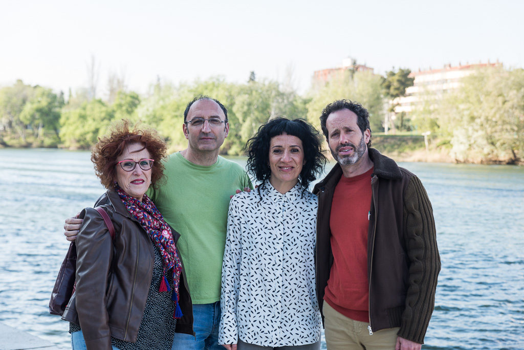 Maribel, Paloma, Carlos y Paco: las candidaturas independientes de Zaragoza en Común