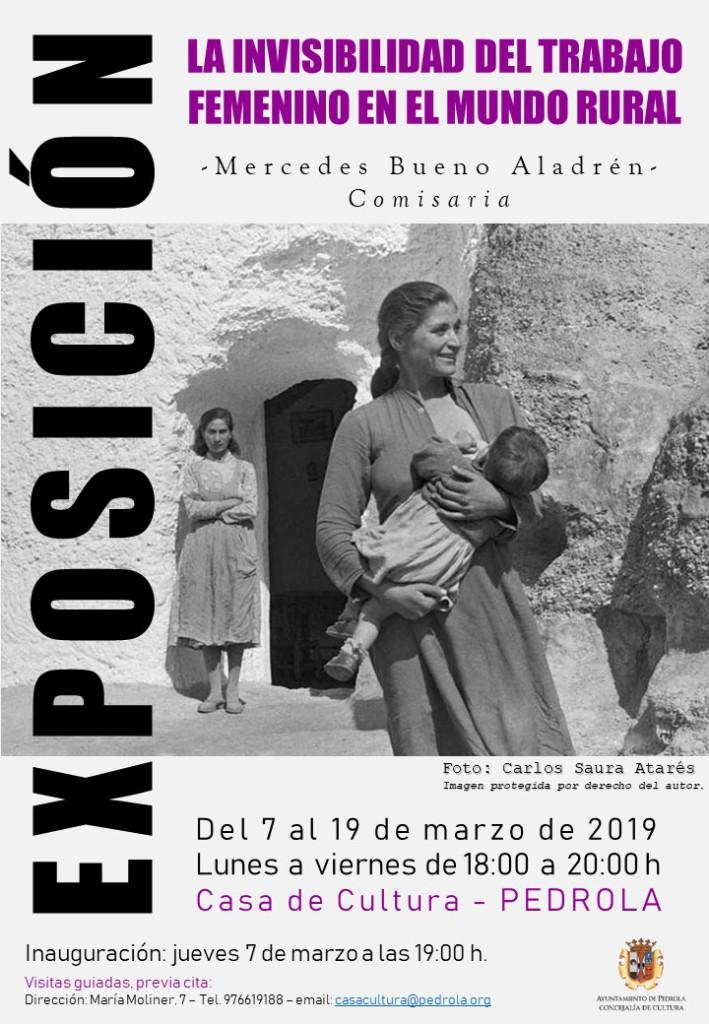 Cartel_Expo_Invisibilidad_Trabajo_Femenino_en_el_mundo_rural_Marzo19
