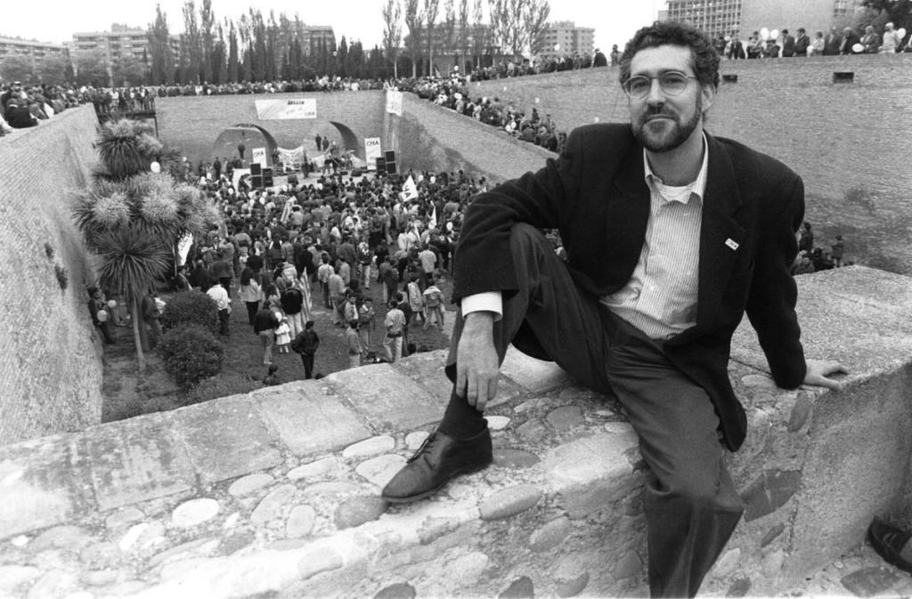 Cientos de personas despiden a Chesús Bernal, fundador de Chunta Aragonesista