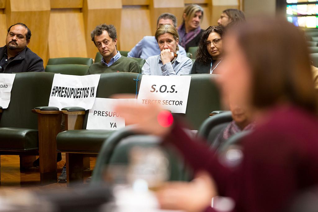 PP, Cs y PSOE tumban los presupuestos de Zaragoza haciendo caso omiso a las reclamaciones de decenas de entidades sociales