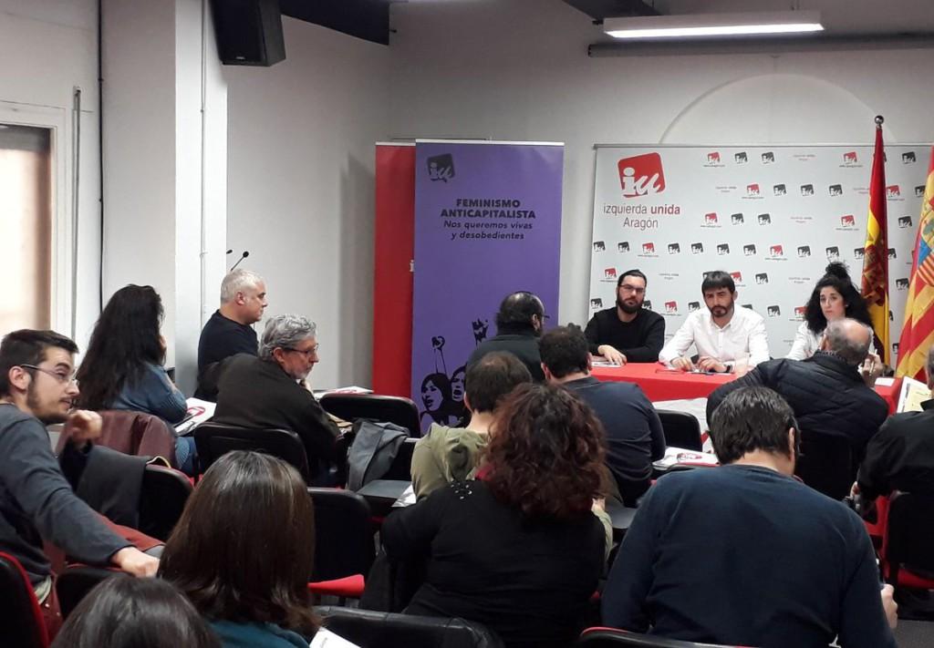 """IU Aragón participará en la manifestación de la """"España vaciada"""" convocada el 31 de marzo en Madrid"""