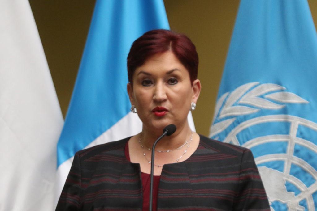 Thelma Aldana: «Hay una violencia que es histórica: la indiferencia del Estado»