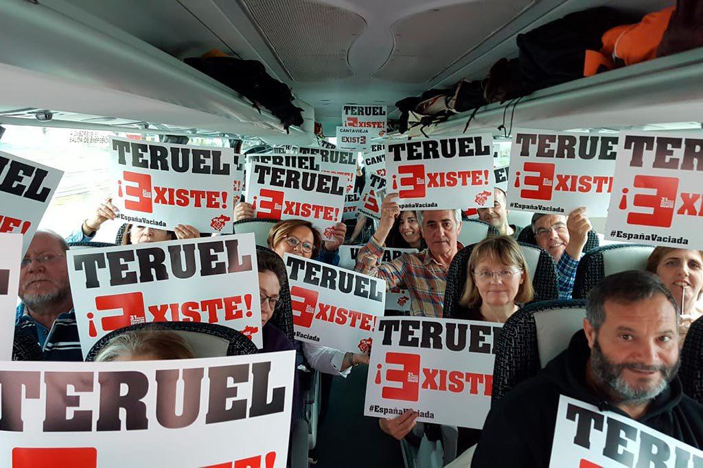 La plataforma Teruel Existe pide a Pedro Sánchez un ministerio que trabaje contra la despoblación