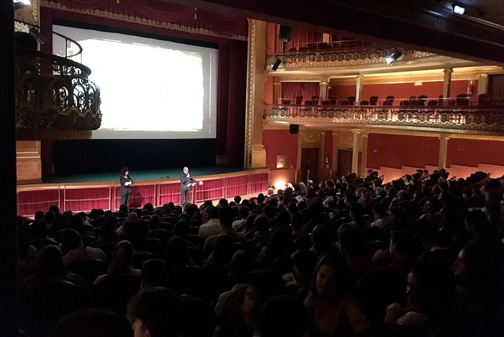 Foto: Muestra de Cine Realizado por Mujeres de Uesca.