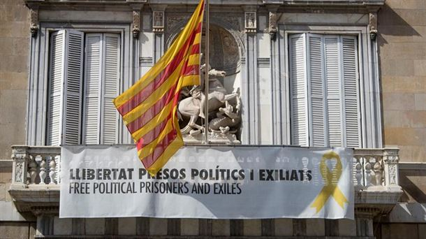 """Torra mantiene los lazos amarillos porque es """"preservar la libertad de expresión"""""""