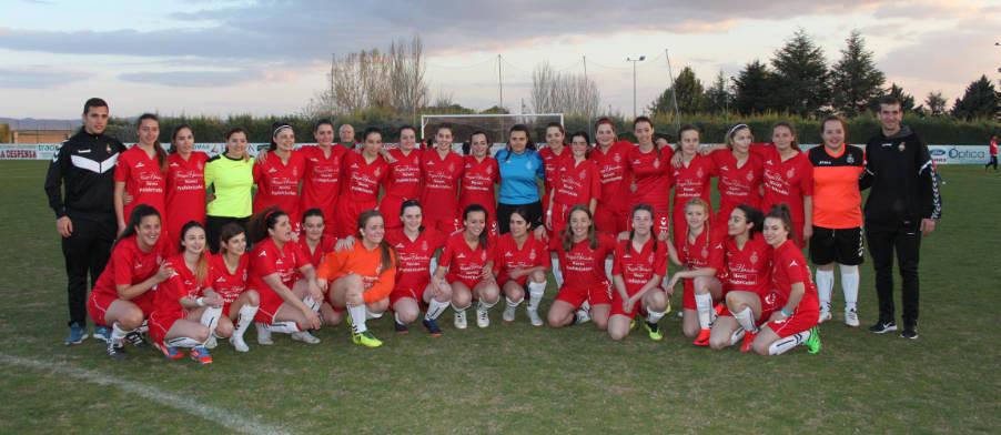 Calamocha se vuelca con su equipo femenino de fútbol