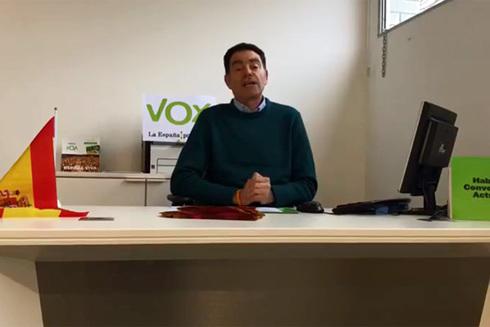Detenido el líder de Vox en Lleida por delitos contra la libertad sexual de menores con discapacidad