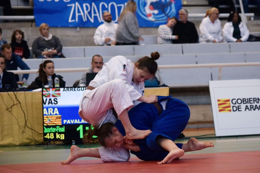 Las promesas del judo aragonés suman 37 medallas en la I Copa estatal y se alzan con el primer puesto