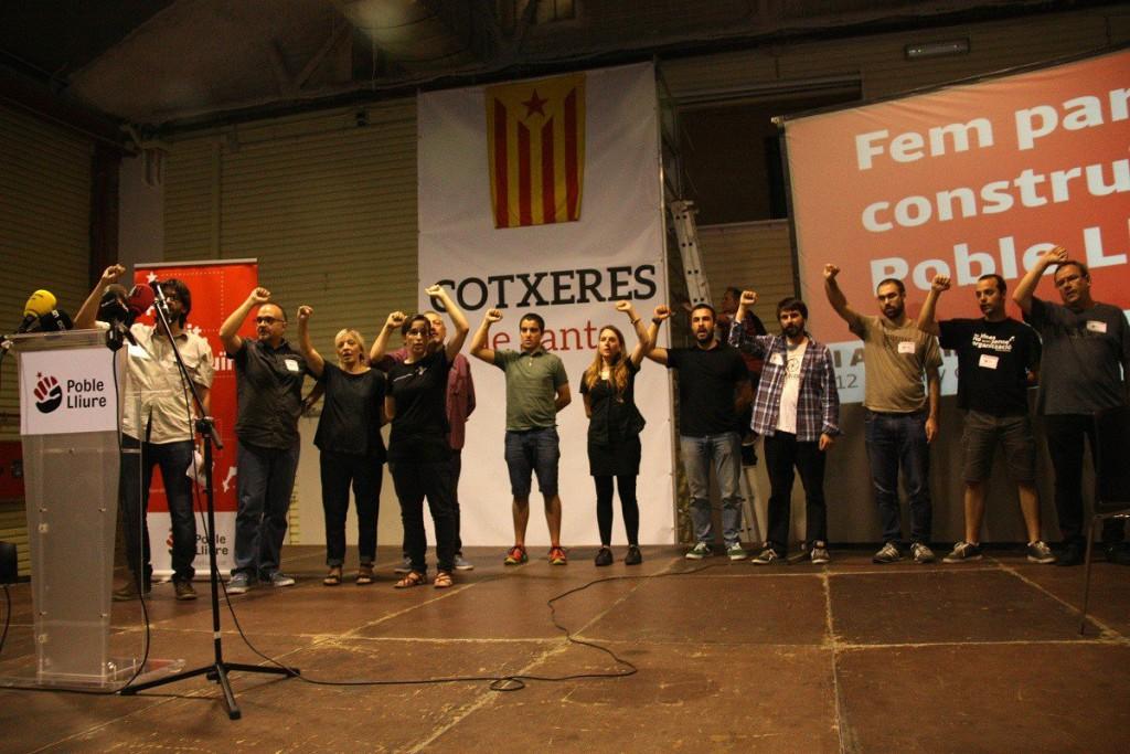 Poble Lliure decide presentarse a las elecciones y la CUP advierte que su decisión afecta a la Unidad Popular y la Esquerra Independentista