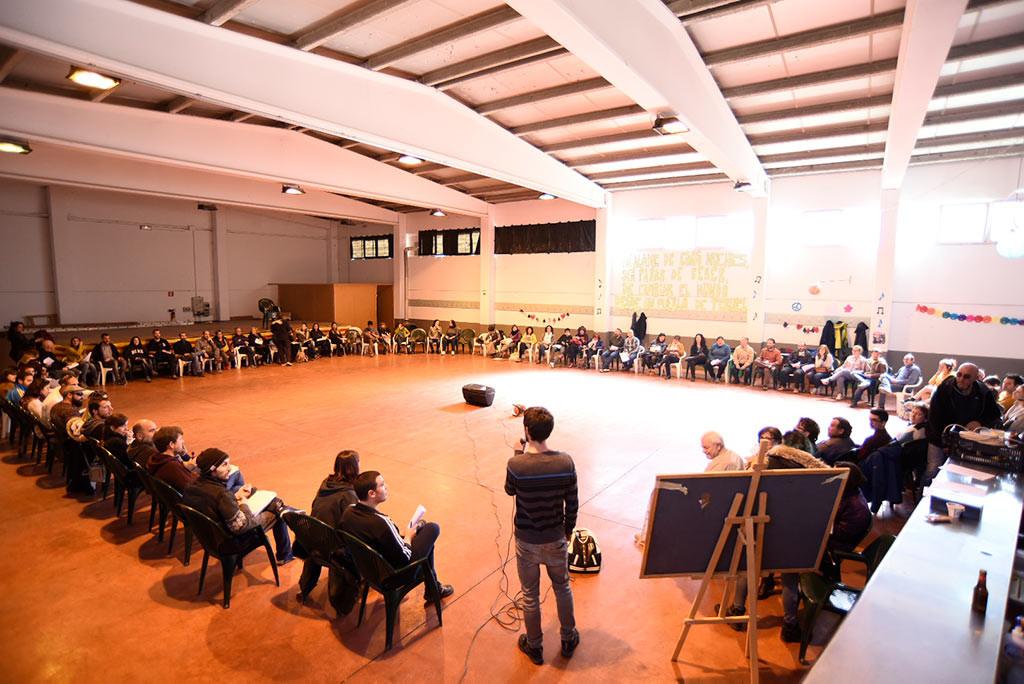 """La primera Riada reúne a más de un centenar de personas para hacer política """"desde los pueblos"""""""