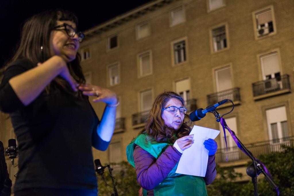 #RosaSeQueda, un grito de supervivencia frente a Kutxabank