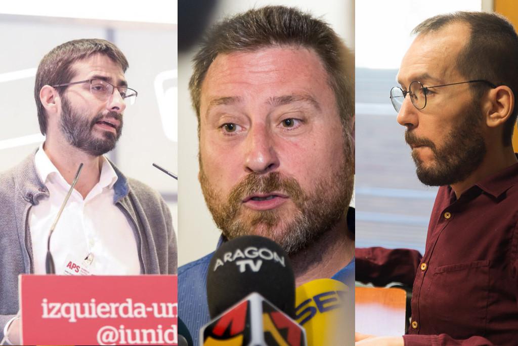 La coalición de izquierdas en Aragón propuesta por CHA e IU es rechazada por Podemos en Madrid
