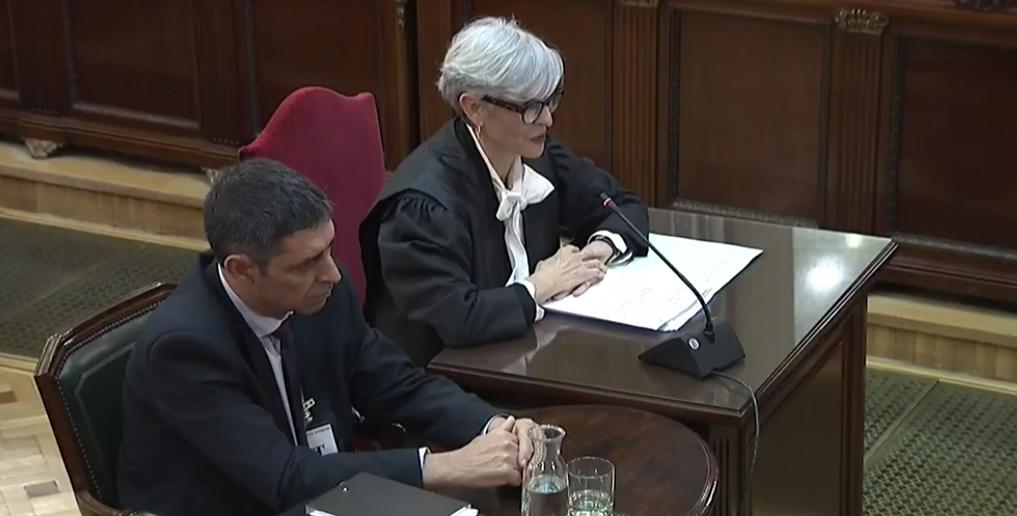 Trapero afirma que los Mossos estaban preparados para detener a Puigdemont y a sus consellers