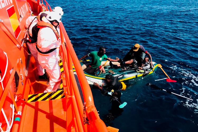 CGT estudia emprender acciones contra las difamaciones de Vox sobre los rescates de Salvamento Marítimo