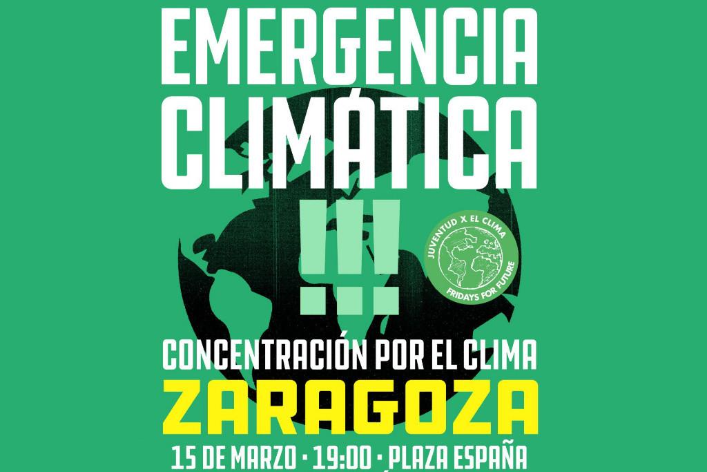 La juventud de Zaragoza en defensa de la Tierra