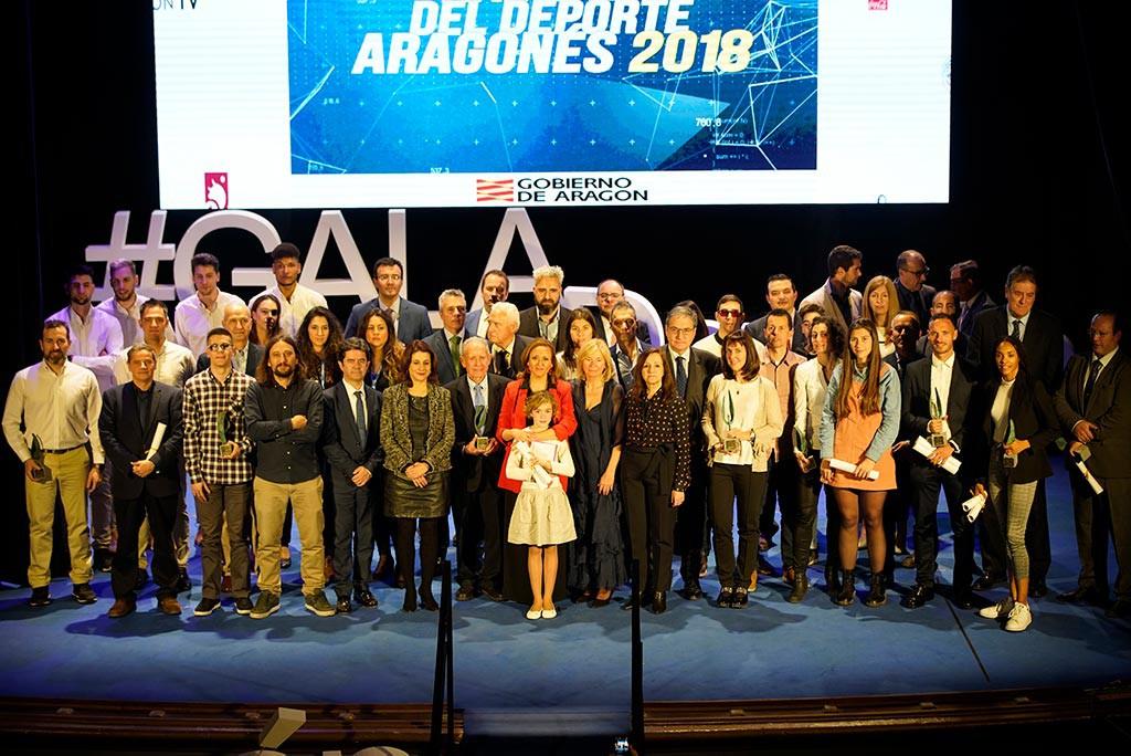 La palista Esther Briz y el atleta Toni Abadía, mejores Deportistas de Aragón 2018