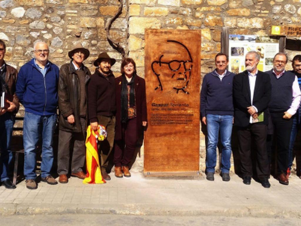 Inauguran un memorial a Gaspar Torrente cuando se cumplen 131 años de su nacimiento en Campo