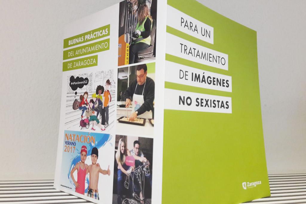 El Ayuntamiento de Zaragoza se compromete con el uso de imágenes no sexistas en todas las áreas municipales