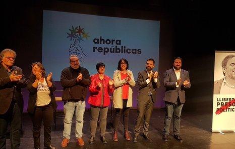 EH Bildu y ERC sellan una alianza para las elecciones estatales en la que también quiere estar Puyalón