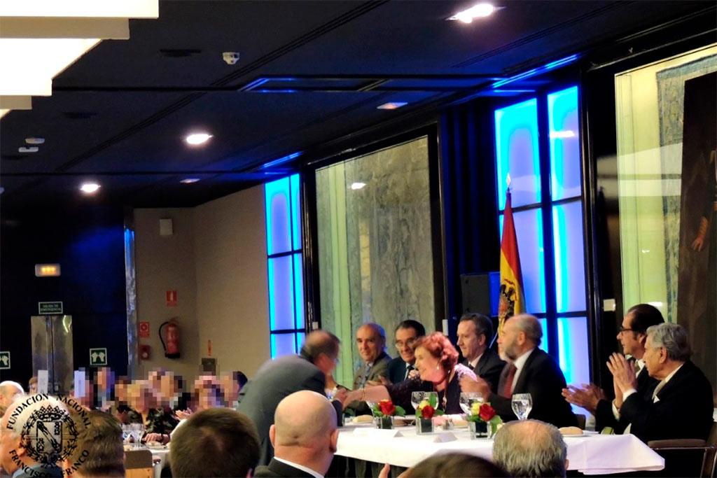 El departamento de Educación y Cultura del Gobierno de Aragón recibirá un galardón de una asociación relacionada con la Fundación Francisco Franco