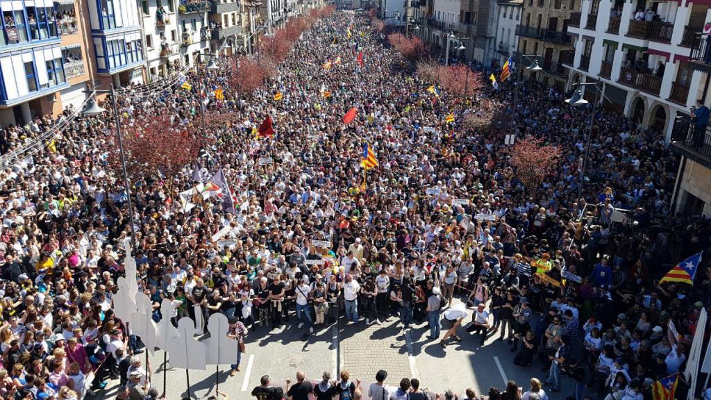 Altsasu desborda solidaridad contra la injusticia