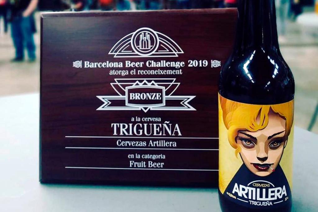 Una cerveza zaragozana consigue el bronce en 'fruit beer' en el Barcelona Beer Challenge