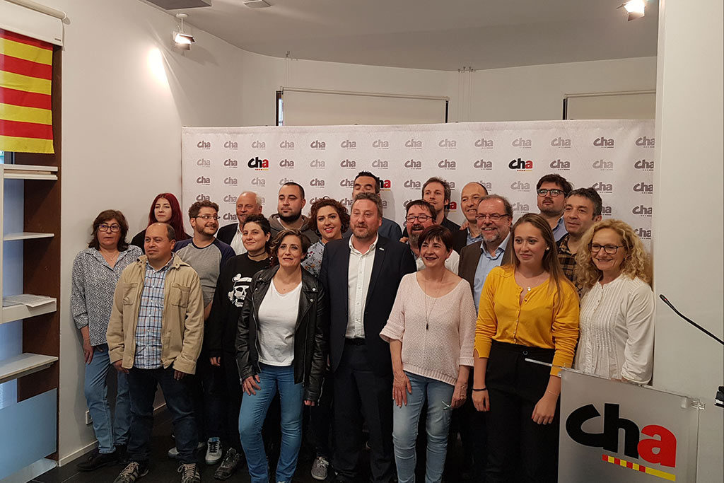 CHA presenta las candidaturas para los ayuntamientos de la Comarca de Zaragoza