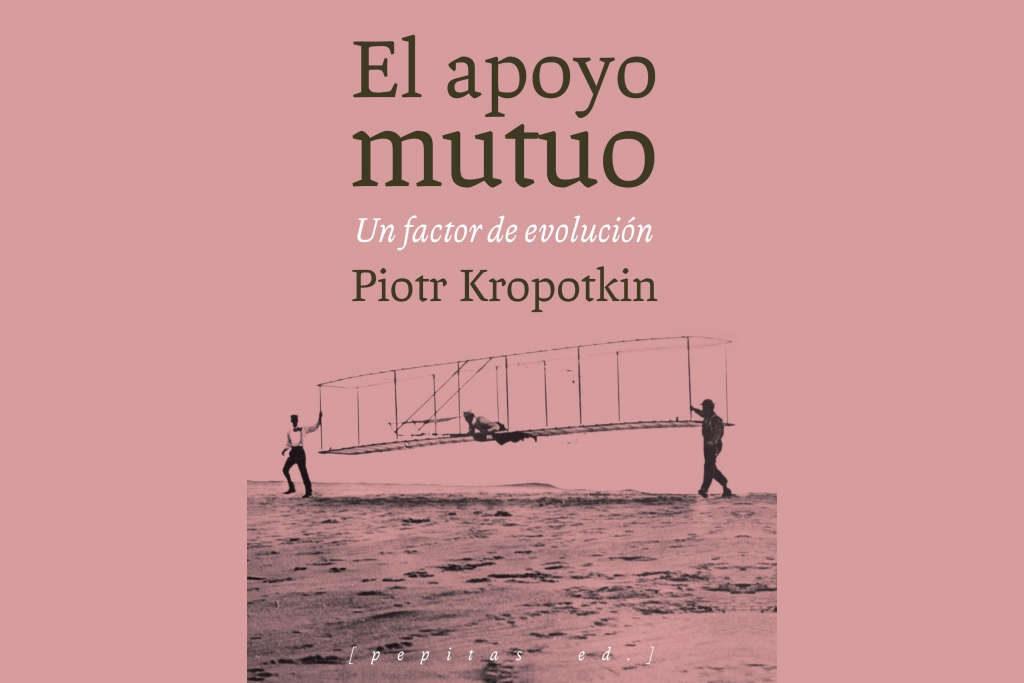 """Pedro Lucha revisa en Uesca el debate sobre la evolución de las especies a partir del libro """"El apoyo mutuo"""" de Piotr Kropotkin"""