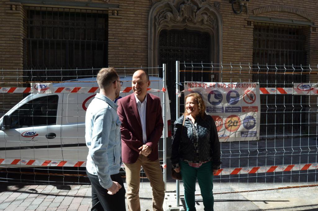 Chunta Aragonesista apuesta por «continuar recuperando» el Patrimonio con Averly, la Fábrica de Galletas y la Harinera de Casetas