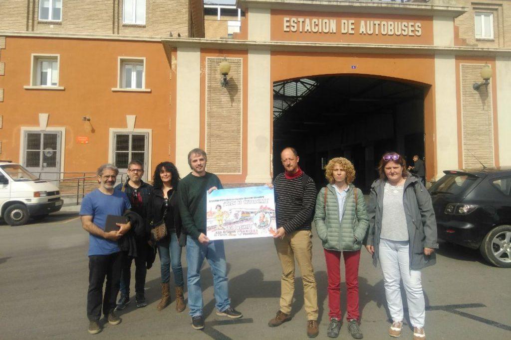 """Chorche Paniello defiende en Balbastro la """"gratuidad"""" de la universidad pública"""