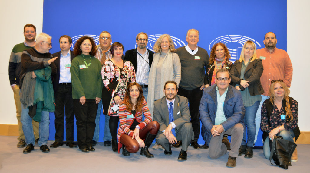 CHA, con 'Compromiso por Europa' en Bruselas