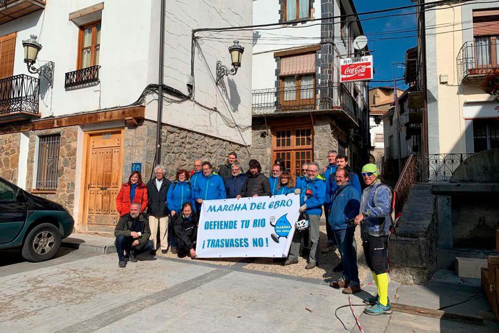 Diario de la Marcha del Ebro: la presa de Ezcaray y el embalse de Enciso