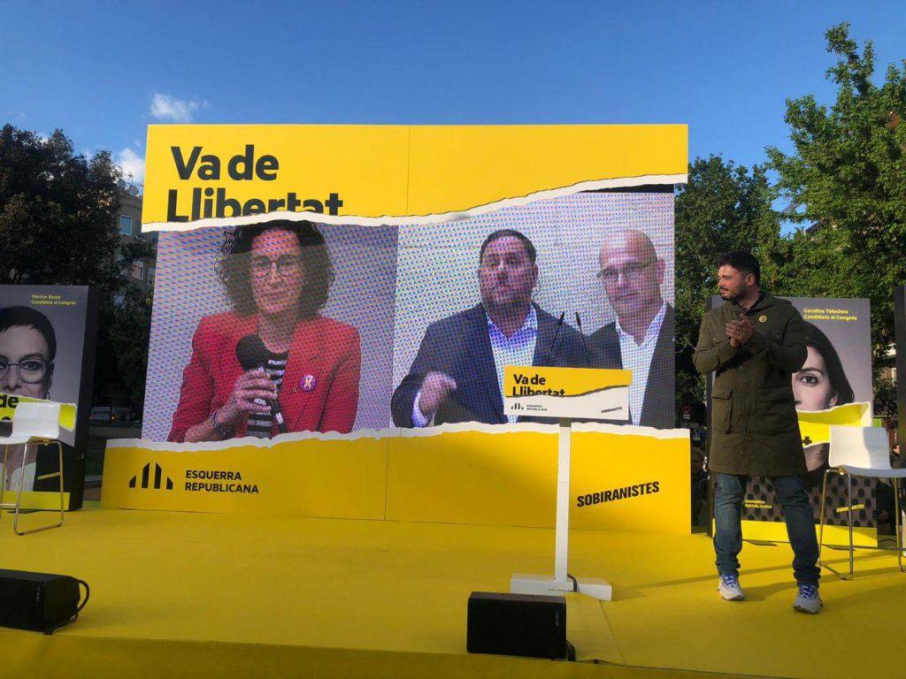 Los partidos soberanistas catalanes y vascos toman protagonismo frente a la política del 155