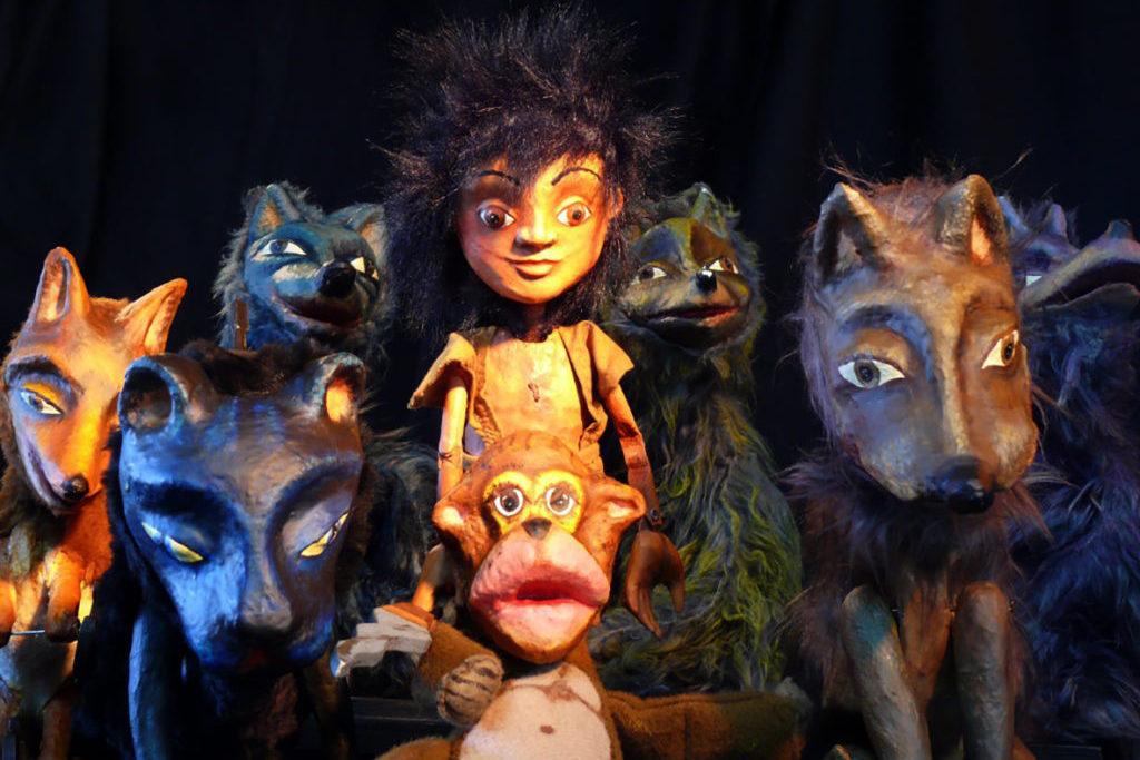 Títeres Cachirulo presenta 'El libro de la selva', la gran historia de Kipling, con hermosas marionetas
