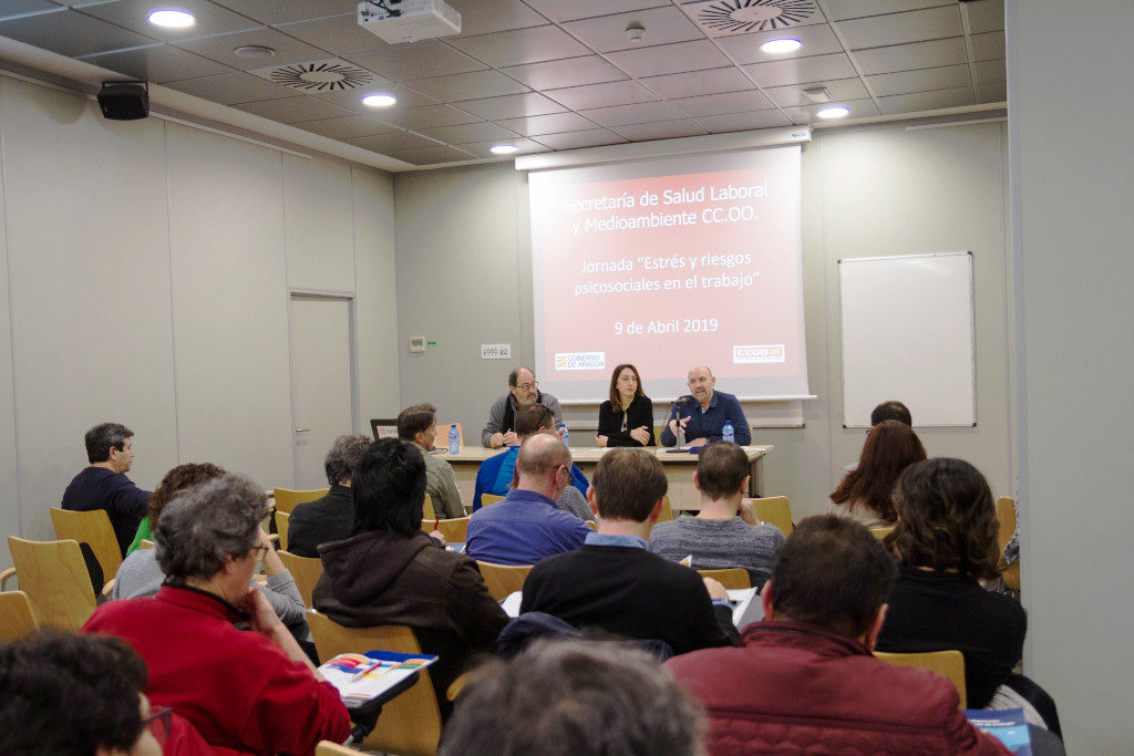 Aumentan en Aragón el estrés y los riesgos psicosociales en el trabajo
