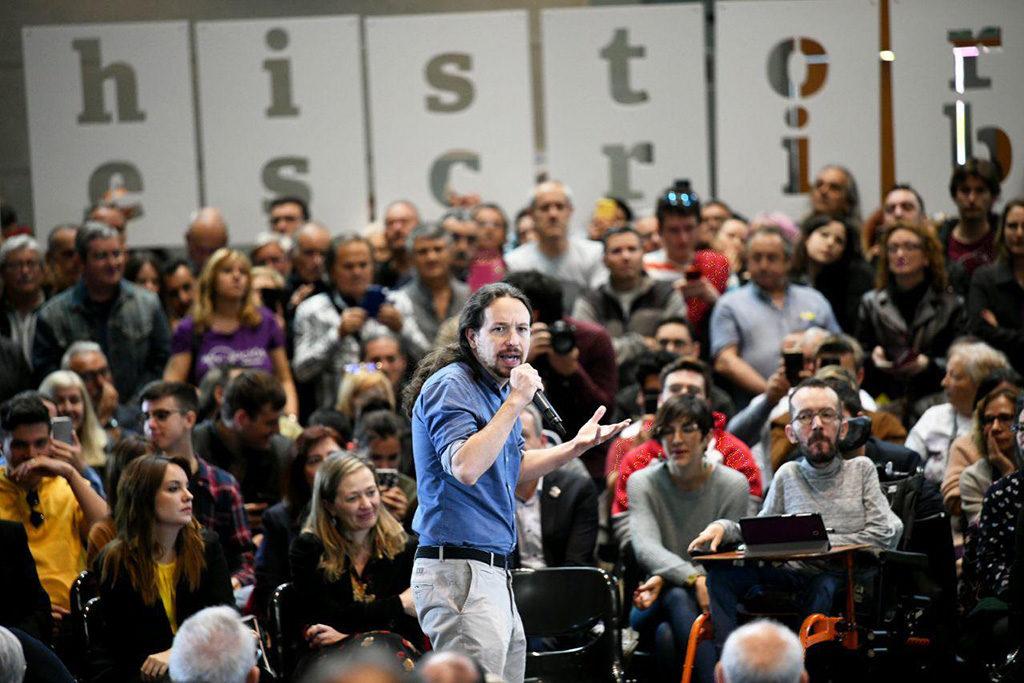 """Pablo Iglesias: """"Crearemos una unidad contra la corrupción institucional, que no dependa de Interior, para acabar con las cloacas"""""""