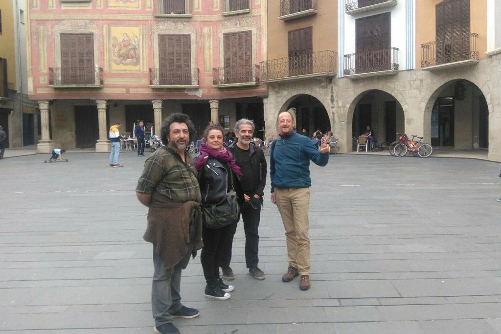 """Chorche Paniello: """"Hay que devolver la esperanza a la Huesca vaciada"""""""