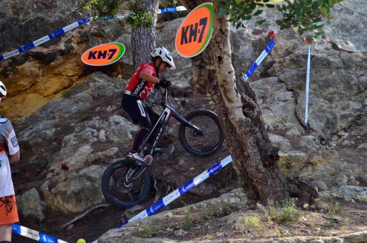 Poldo Sillué sexto en la segunda prueba de la Copa Catalana de Trial disputada en Altafulla en categoría R3