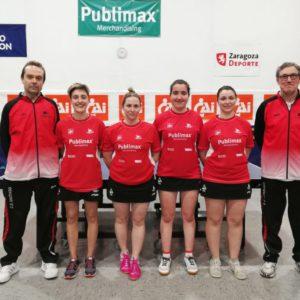 Publimax CAI Santiago, a la fase de ascenso a la división de plata estatal de tenis de mesa