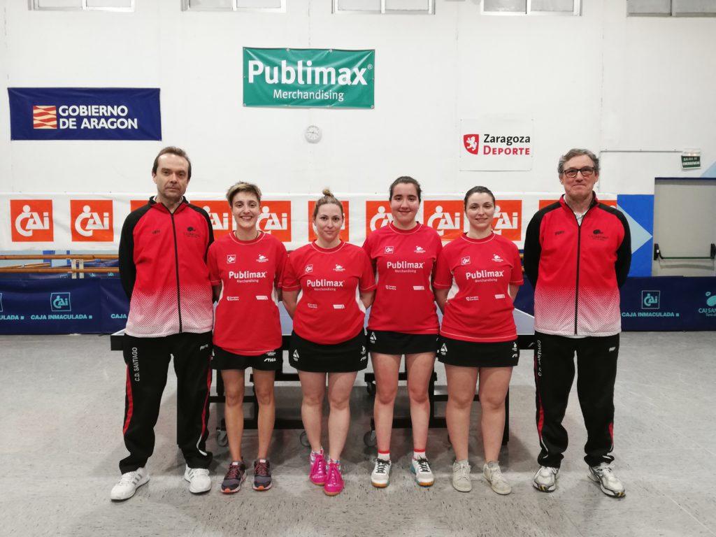 Helios de categoría masculina y Publimax de femenina consiguen sus objetivos de la temporada en tenis de mesa