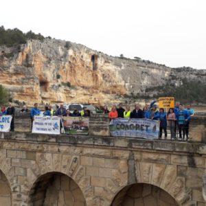 Diario de la Marcha del Ebro: La presa del Bergantes y el recrecimiento de Santolea