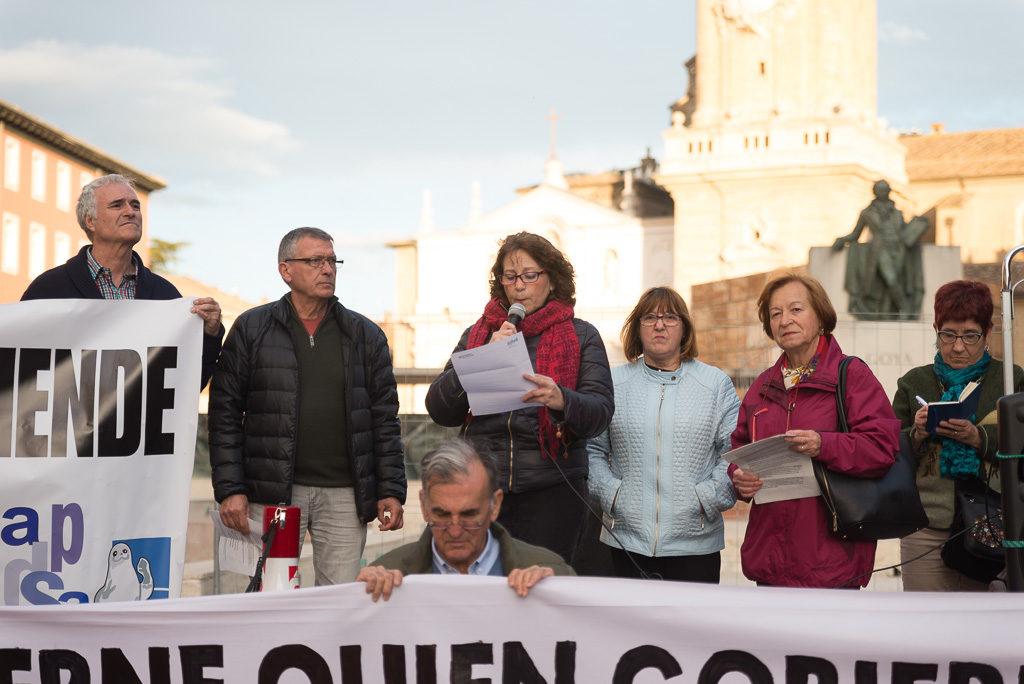 La Junta Electoral prohibe la concentración en defensa de la Sanidad Pública en Uesca